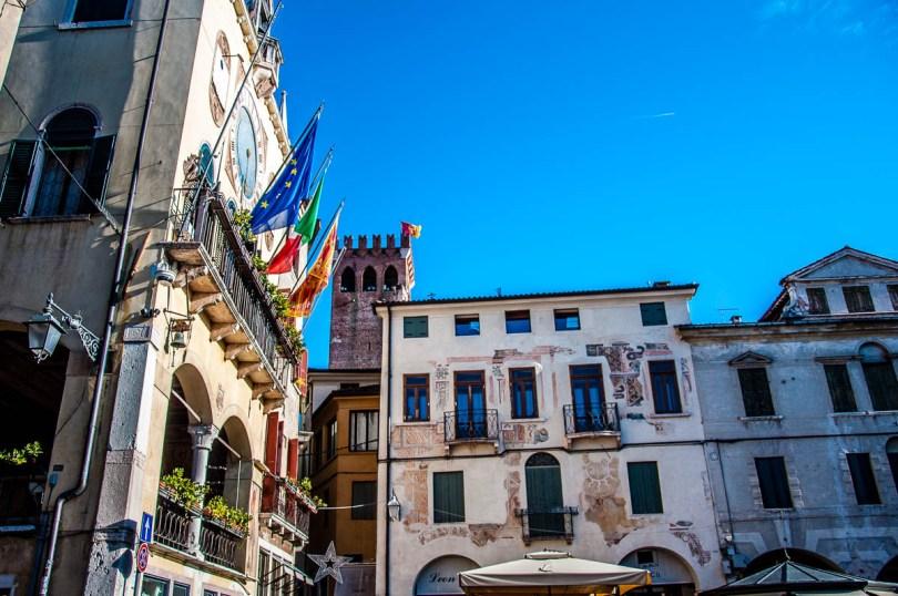 Piazza della Liberta' - Bassano del Grappa - Veneto, Italy - rossiwrites.com