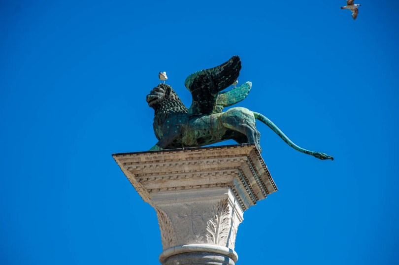 The Winged Lion of St. Mark - Venice, Italy - rossiwrites.com