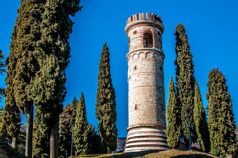 The tower - Dante's Hill - Col Bastia - Romano d'Ezzelino, Veneto, Italy - rossiwrites.com