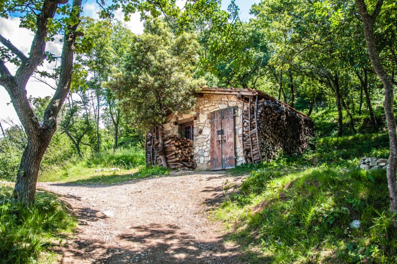 A shack in the olive grove - Crero, Lake Garda, Veneto, Italy - rossiwrites.com