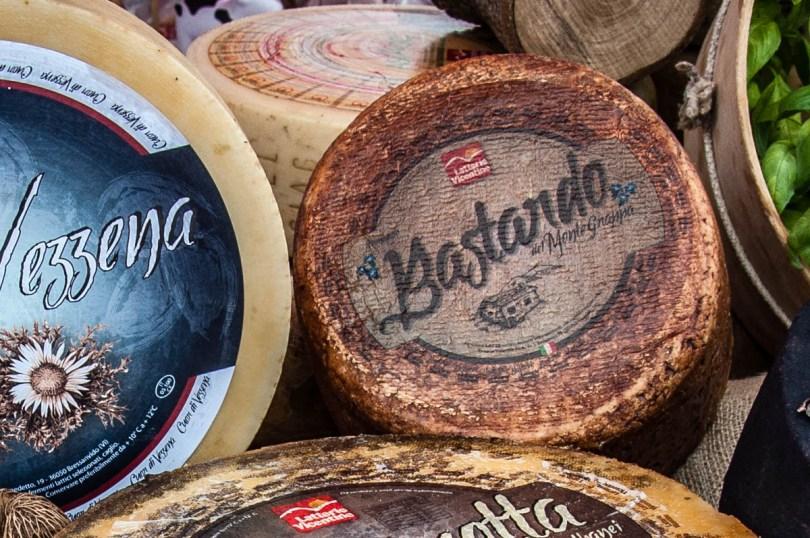 Bastardo di Monte Grappa Cheese - Vicenza, Veneto, Italy - rossiwrites.com