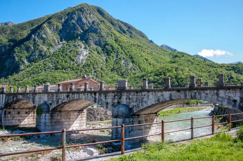 Bridge over a river - Venzone, Friuli Venezia Giulia, Italy - rossiwrites.com