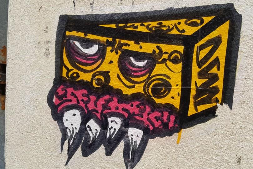 Cheese graffiti - Venice, Veneto, Italy - rossiwrites.com