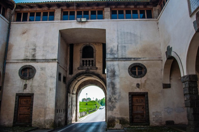 Inside Porta Aquileia Monumental Gate - Palmanova, Friuli-Venezia Giulia, Italy - www.rossiwrites.com