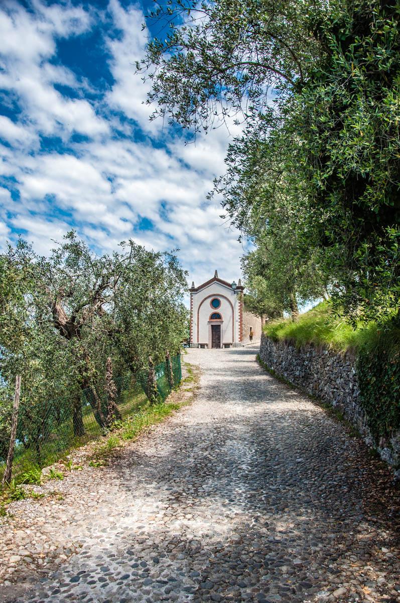The Church of San Siro - Crero, Lake Garda, Veneto, Italy - rossiwrites.com