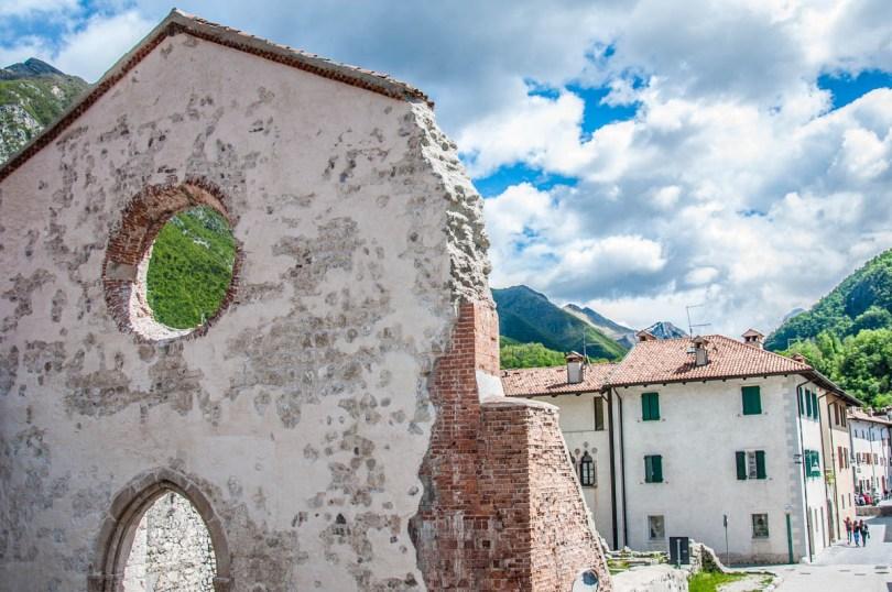 Church of San Giovanni Battista, Venzone, Friuli Venezia Giulia, Italy - www.rossiwrites.com