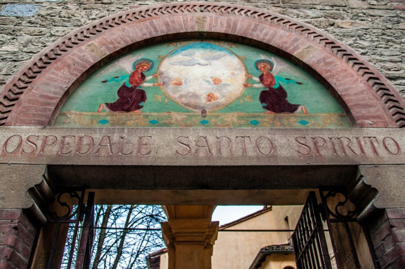 The former Hospital of the Holy Spirit, currently the Geological Museum - Castell'Arquato, Province of Piacenza - Emilia-Romagna, Italy - rossiwrites.com