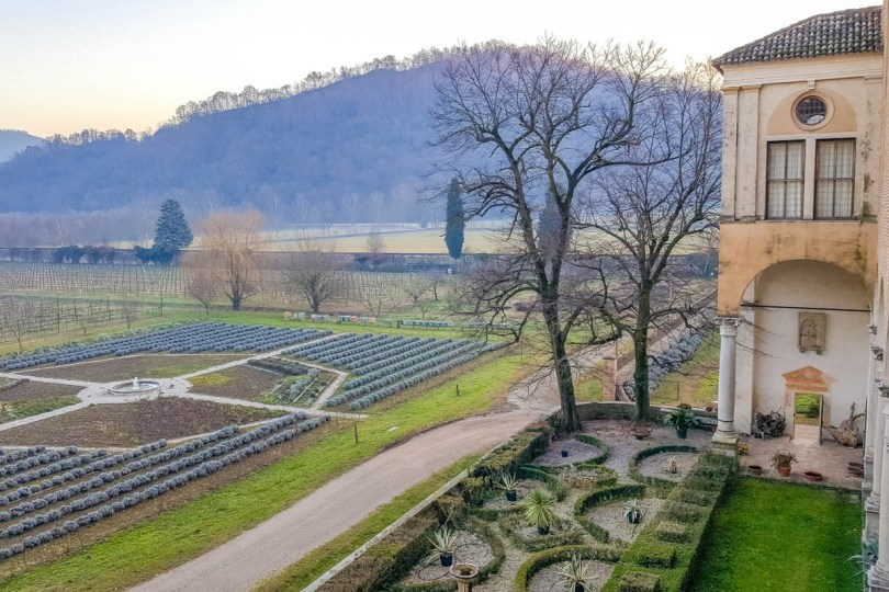 The orchards of the Praglia Abbey - Teolo, Euganean Hills, Veneto, Italy - rossiwrites.com