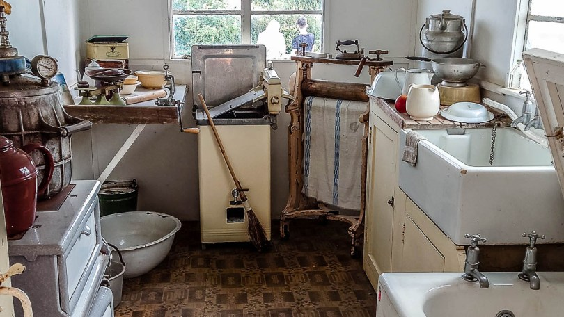 Historic kitchen with a bath tub - Kent Life - Maidstone, Kent, England - rossiwrites.com
