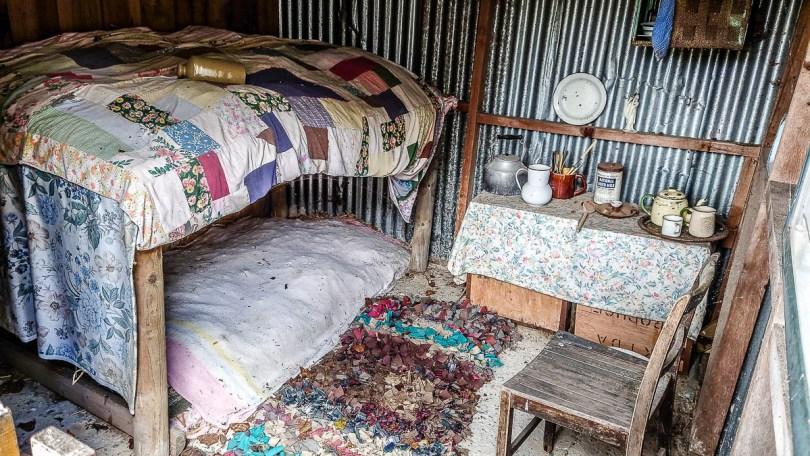 Inside a historic hoppers' hut - Kent Life - Maidstone, Kent, England - rossiwrites.com