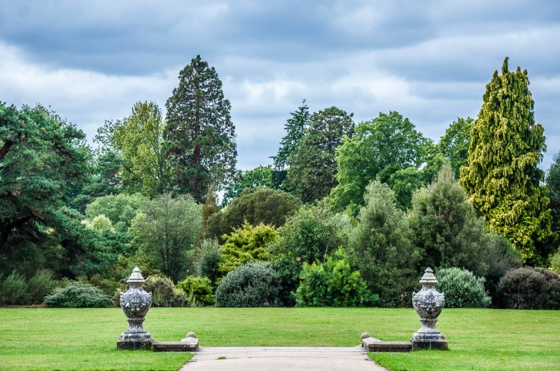 The Mansion Lawn - Wakehurst, West Sussex, England, UK - rossiwrites.com