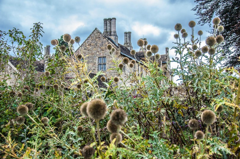 The Mansion seen from the Winter Garden - Wakehurst, West Sussex, England, UK - rossiwrites.com