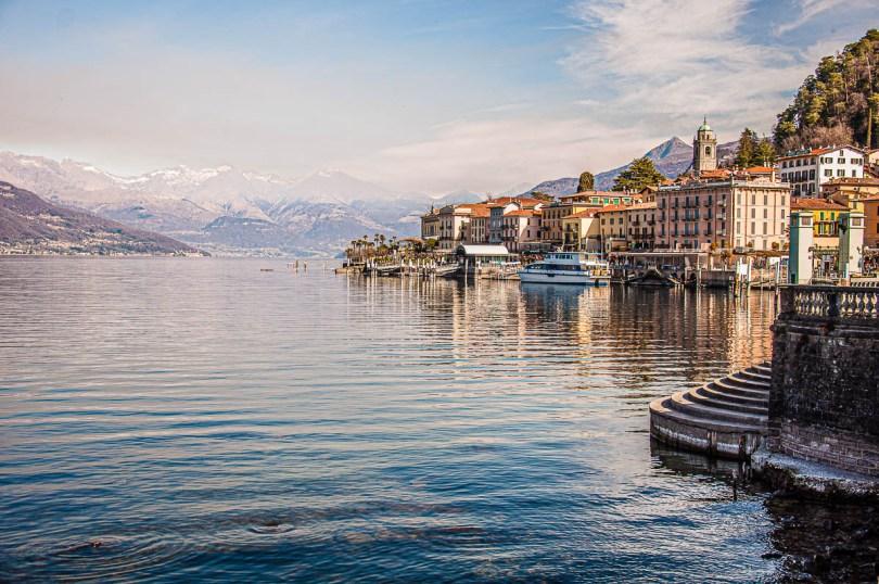 Panoramic view of Bellagio - Lake Como, Italy - rossiwrites.com