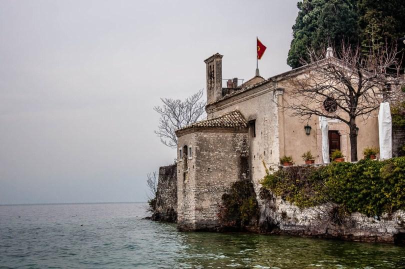 The ancient church of San Vigilio - Punta di San Vigilio - Lake Garda, Italy - rossiwrites.com