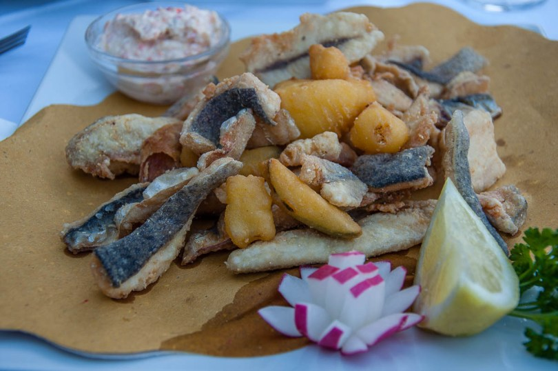 Fried lake fish - Lake Garda, Italy - rossiwrites.com