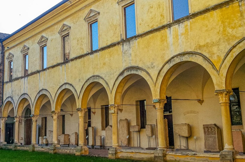 The former cloister - Natural History and Archaeological Museum in Vicenza - Veneto, Italy - rossiwrites.com