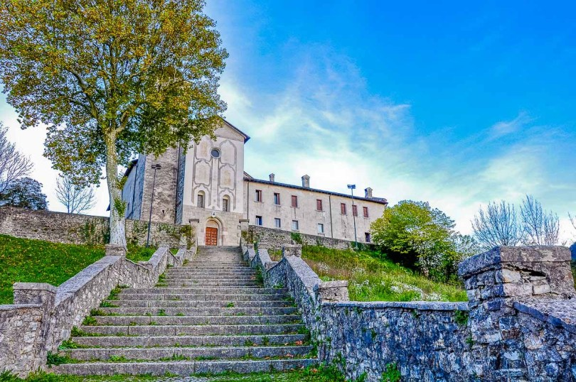 Monastery of St. Vittore and St. Corona - Feltre, Italy - rossiwrites.com