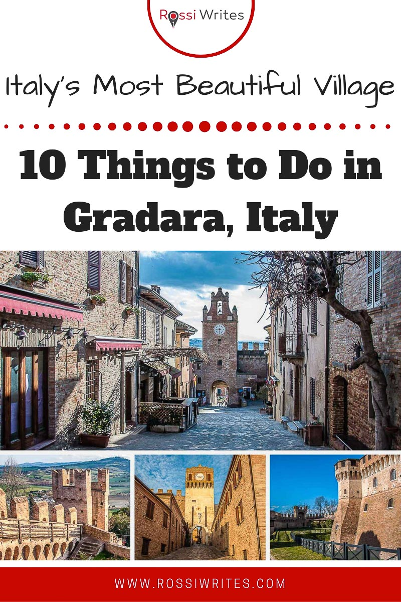 Pin Me - 10 Things to Do in Gradara - Italy's Most Beautiful Village for 2018 - rossiwrites.com