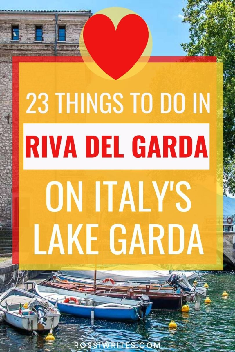 23 Best Things to Do in Riva del Garda on Lake Garda, Italy - rossiwrites.com