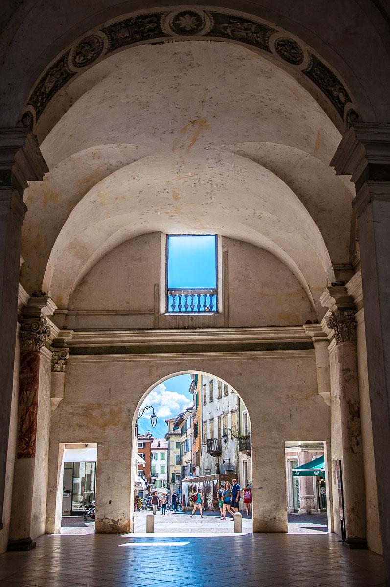 Inside Porta San Giuseppe - Riva del Garda, Italy - rossiwrites.com