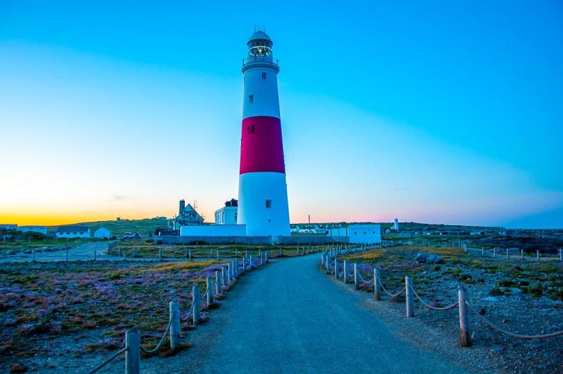 Portland Bill lighthouse on the Isle of Portland - Dorset, England - rossiwrites.com