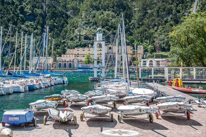 The harbour - Riva del Garda, Italy - rossiwrites.com