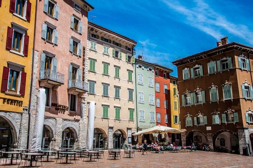 View of the Historic centre - Riva del Garda, Italy - rossiwrites.com