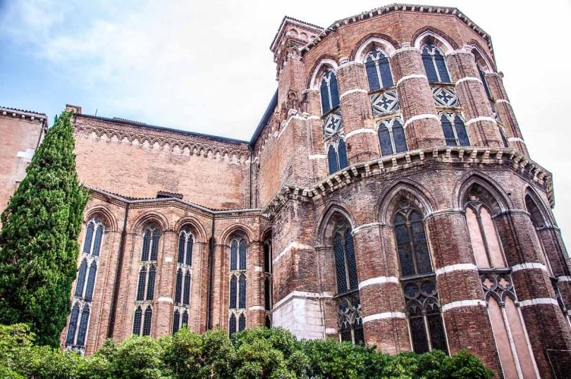 Basilica dei Frari - Venice, Italy - rossiwrites.com