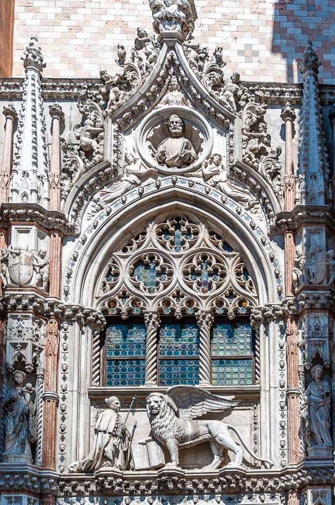 Porta della Carta of the Doge's Palace - Venice, Italy - rossiwrites.com