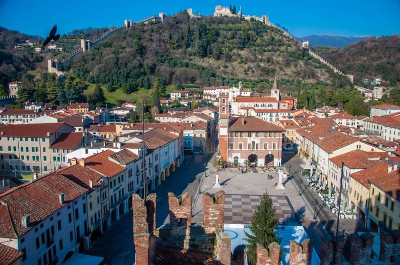 The historic centre of Marostica - Veneto, Italy - rossiwrites.com