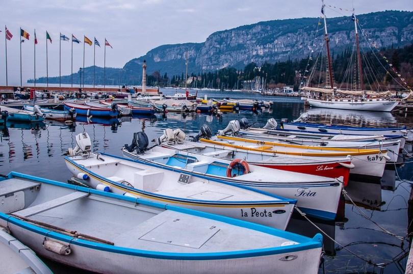 The marina of Garda Town on Lake Garda - Veneto, Italy - rossiwrites.com