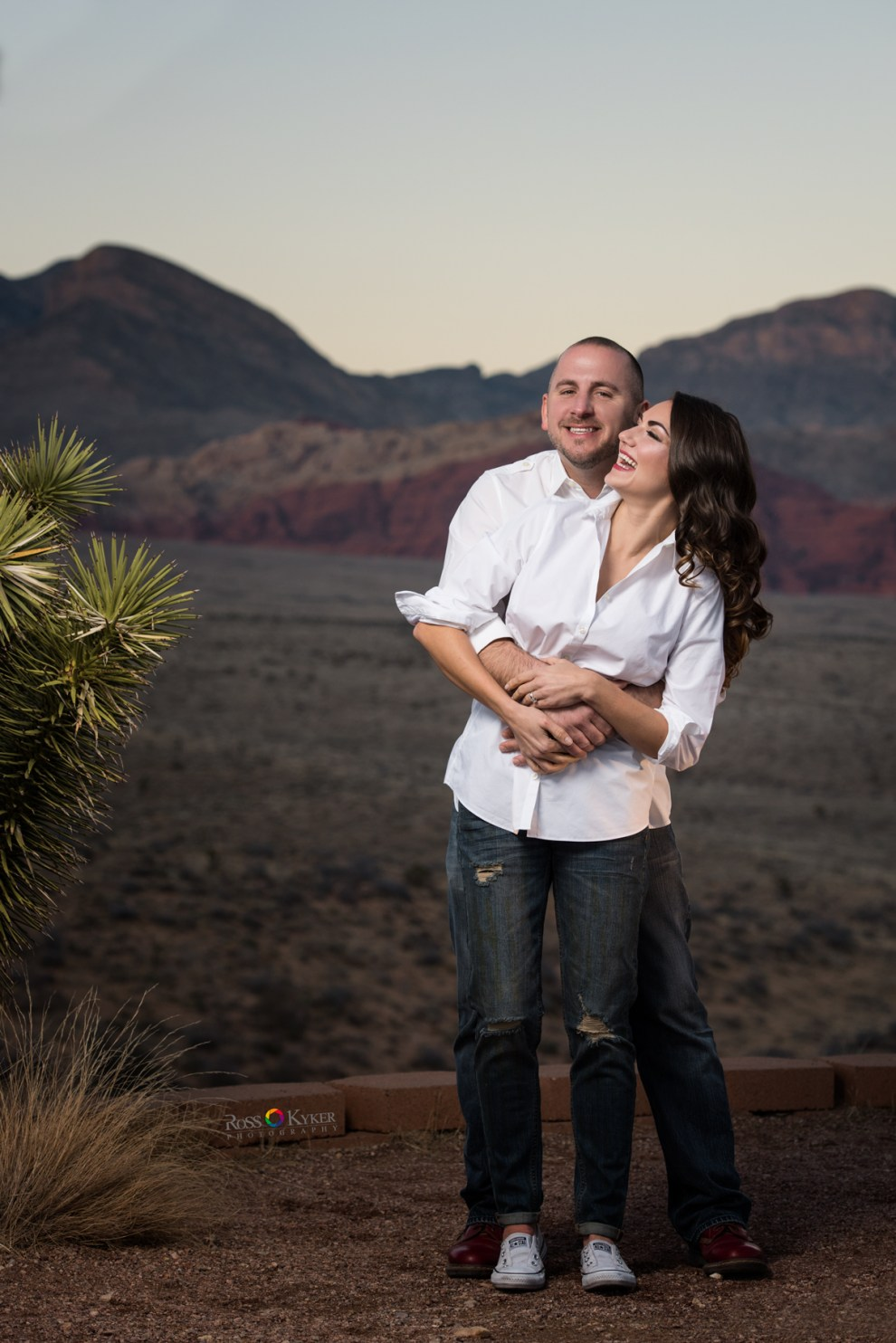 red rock state park engagement photos