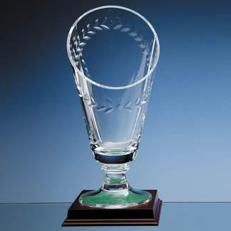34cm Handmade Slope Top Laurel Vase