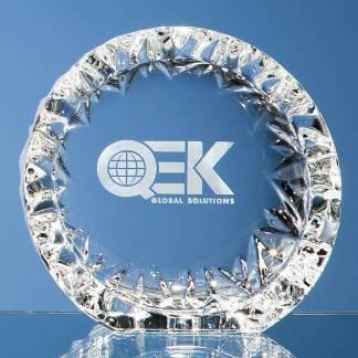 Branded crystal