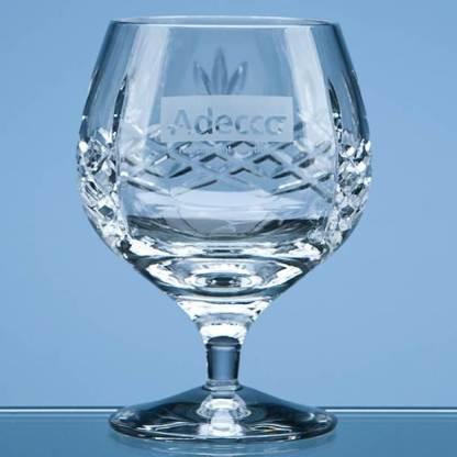 350ml Mayfair Crystalite Panel Brandy