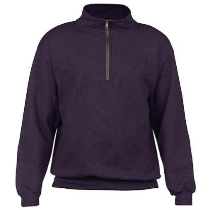 Heavy Blend™ Vintage Zip Neck Sweatshirt