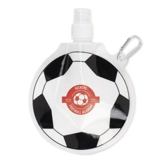 Football shape foldable bottle