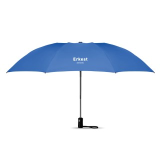 Foldable reversible umbrella