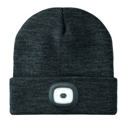 Beanie with COB light