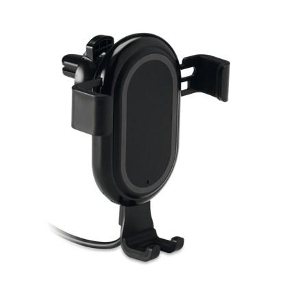 Wireless charging phone holder