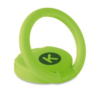 Ring phone holder with token