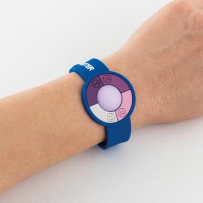 UV sensor watch in PVC