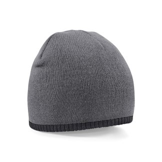 Two Tone Pull-On Beanie