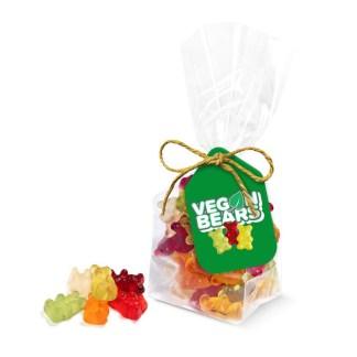Eco Range – Block Bag - Kalfany Vegan Bears - Midi