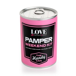 Pampering Essentials Handy Can Kit