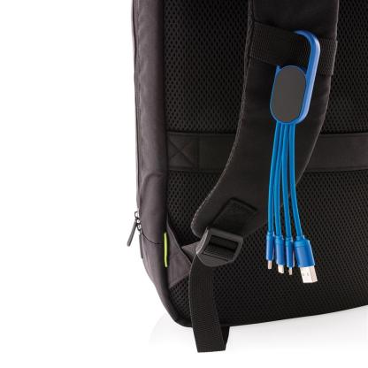 4-in-1 cable with carabiner clip