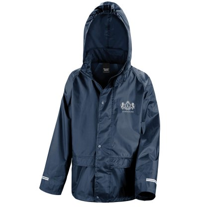 Core junior rain jacket