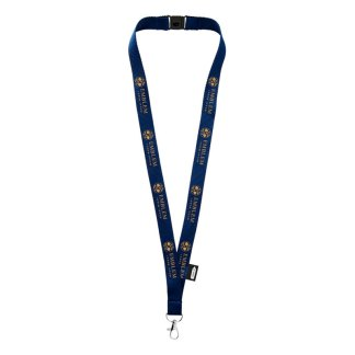 Recycled lanyard with safety break
