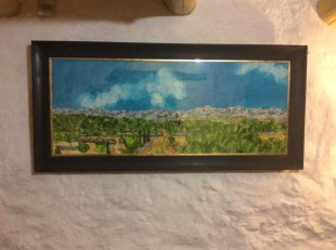Towards the Serres de Cardó-el Boix, all framed up and in situ in Catalona