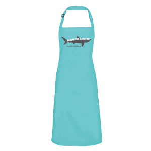 Basking Shark Apron Duck Egg
